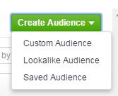 Facebook Advertising Creates Audiences