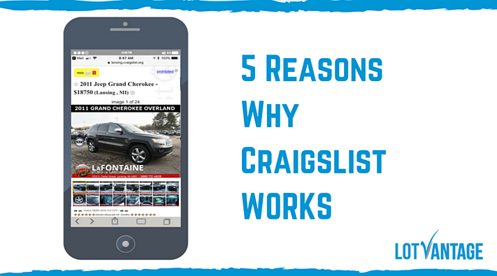 5 Reasons Why Craigslist Works